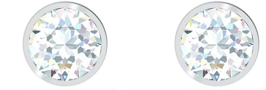 Swarovski Tennis Style Earrings