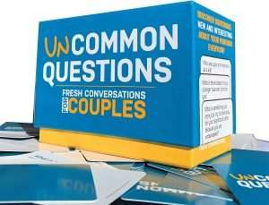 Uncommon Questions Couple Card Game