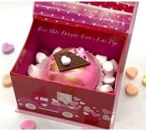 Valentine Cocoa Bomb