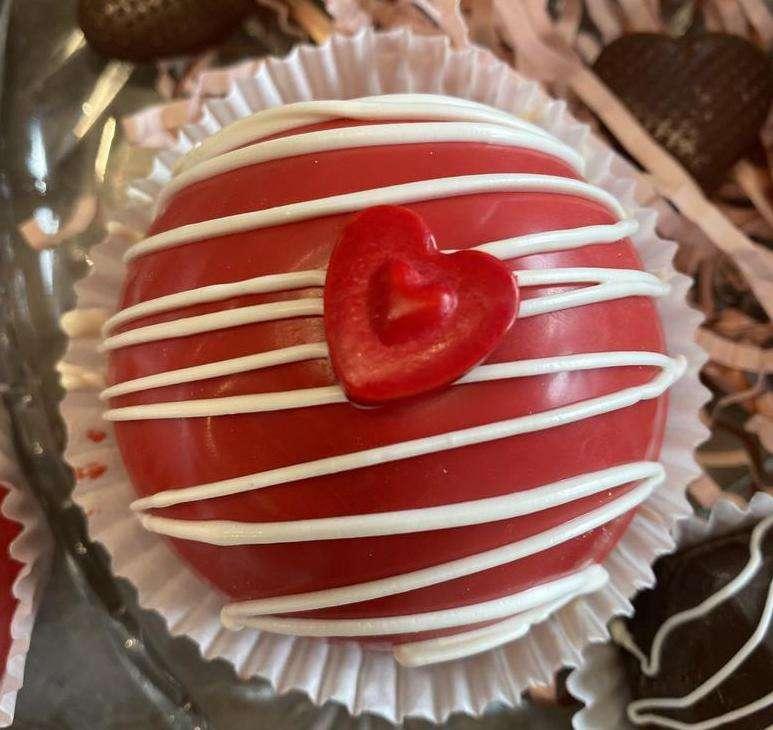 Valentine's Day Strawberry or Chocolate Bomb