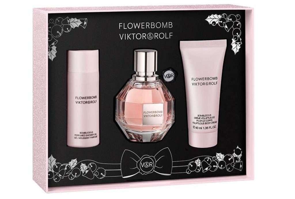 Viktor & Rolf Flowerbomb 3 Pc Perfume Gift Set