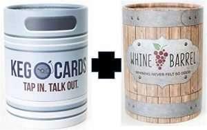 Whine Barrel & Keg O Couple Card Game