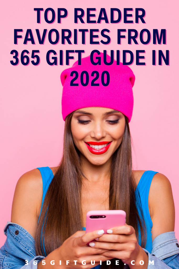 top 25 reader favorites from 365 Gift Guide in 2020