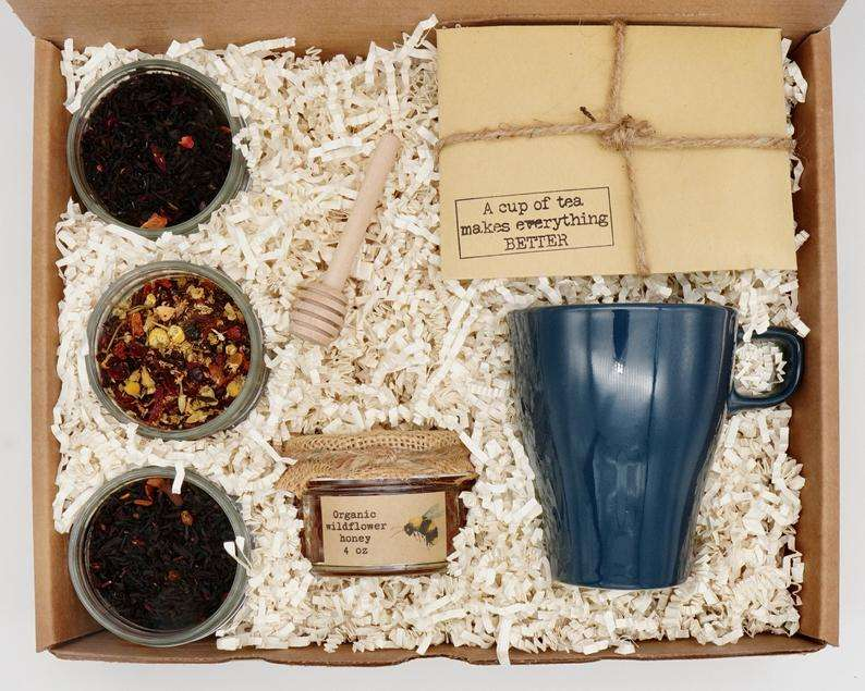 A Cup of Tea Gift Basket