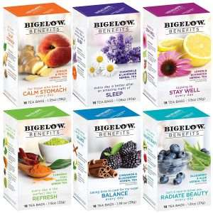 Bigelow Tea Benefits Wellness Teabag Variety Pack