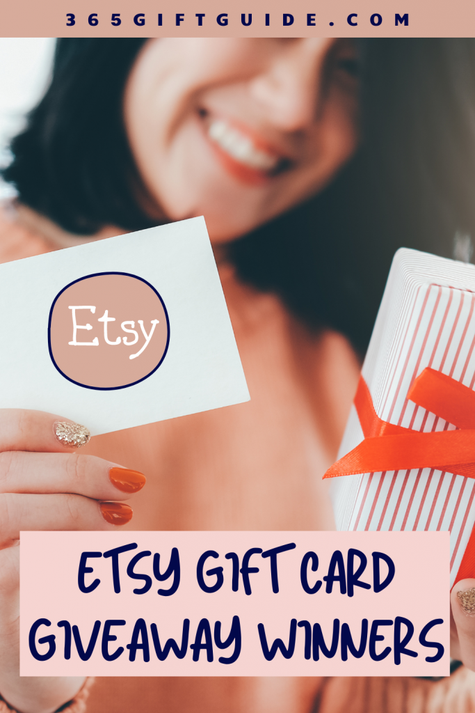 Etsy Gift Card Giveaway Winners