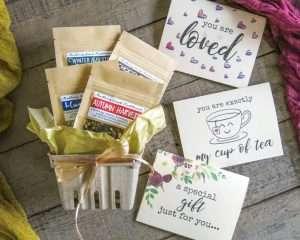 Herbal Tea Gift Basket