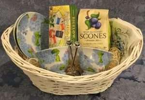 Hydrangea Tea Gift Basket
