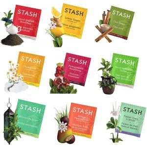 Stash Tea Bags Sampler Assortment Box
