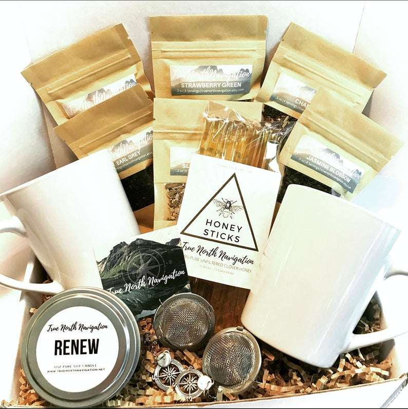 Tea Lover Gift Box for Two
