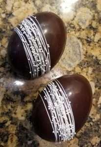 Breakable Belgian Chocolate Easter Egg