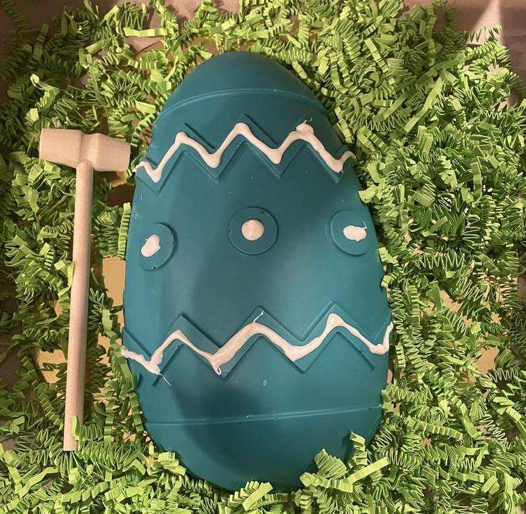 Breakable Chocolate Easter Egg