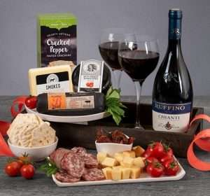 Charcuterie Gift Basket for Couples