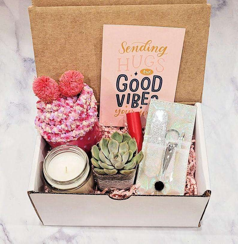 Cheer Up Succulent Gift Box