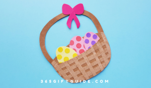 Easter Basket Craft - Template Included