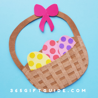 Easter Basket Craft – Template Included