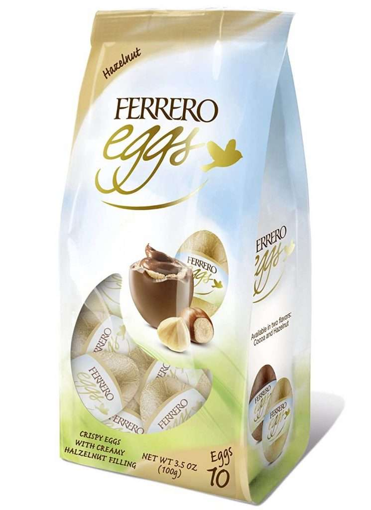 Ferrero Fine Hazelnut Milk Chocolate Eggs