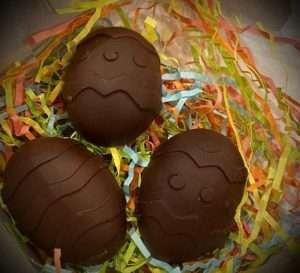 Keto Golden Chocolate Easter Eggs