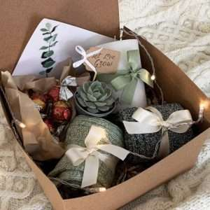 Let Love Grow Hygge Succulent Gift Box