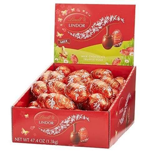 Lindor Milk Chocolate Eggs