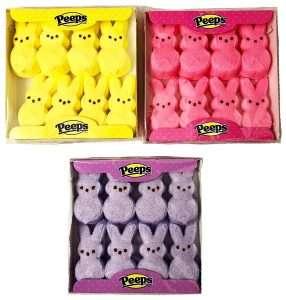 Marshmallow Peeps Easter Bunnies