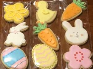 Mini Easter Hand Decorated Sugar Cookies