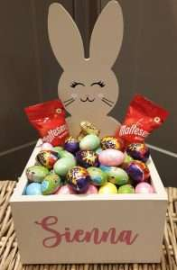 Personalized Easter Bunny Hamper