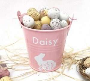 Personalized Easter Egg Bucket