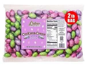 R.M. Palmer Cookies & Creme Easter Eggs