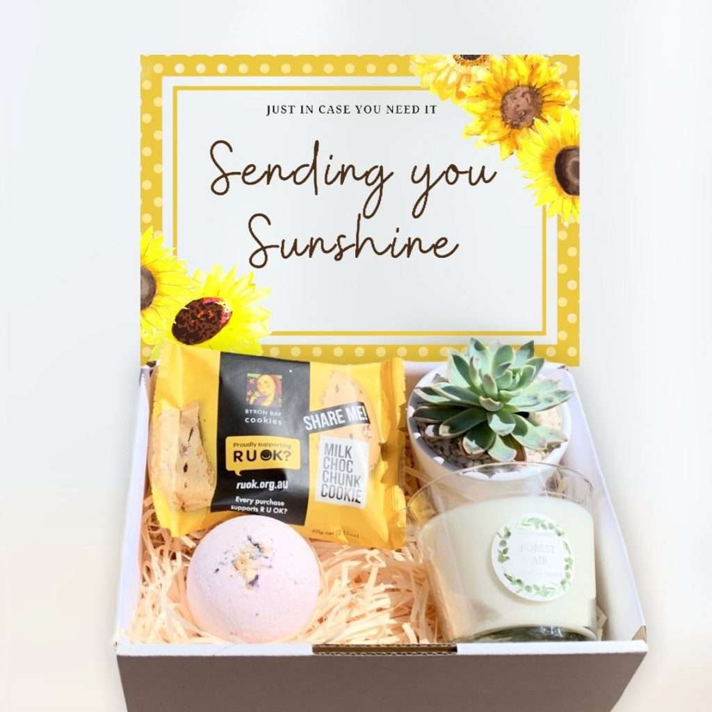 Sending You Sunshine Succulent Gift Box