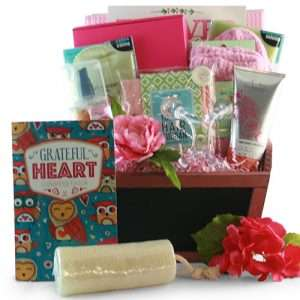 A Day at the Spa for Mom Gift Basket
