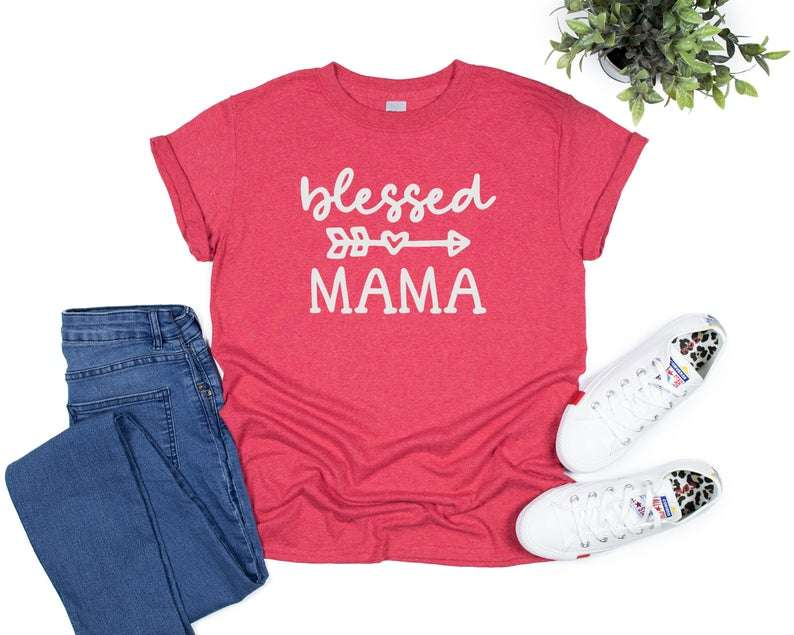 Blessed Mama T- Shirt