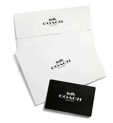 Coach Gift Card