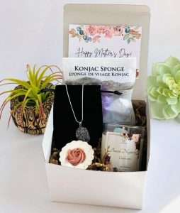 Cozy Gift Basket for Mom