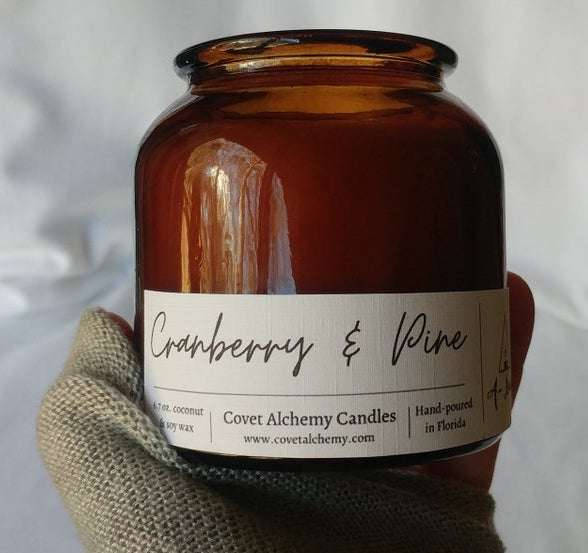 Cranberry & Pine Hygge Candle
