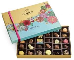 Godiva Chocolatier Spring Assorted Chocolate Gift Box