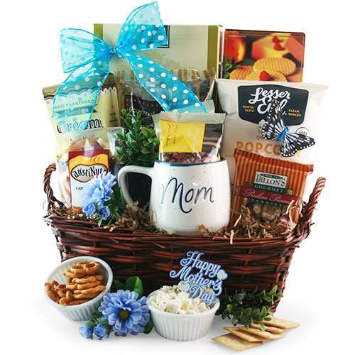 Gourmet Mothers Day Gift Basket
