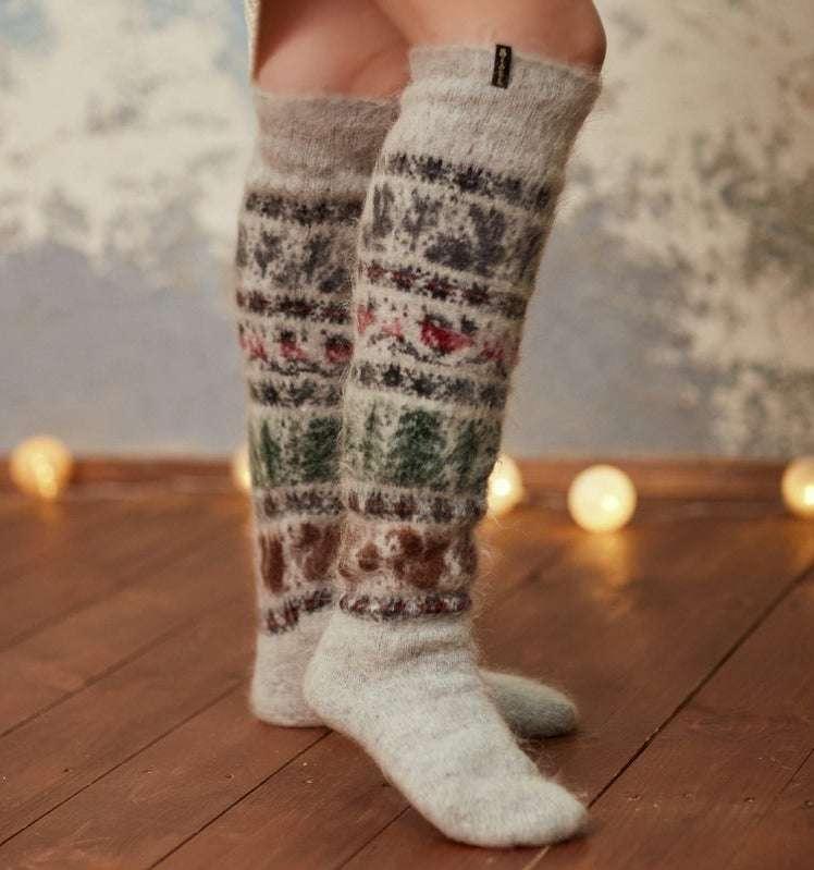 Hygge Fuzzy Animal Socks