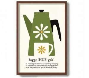Hygge Kitchen Art Print