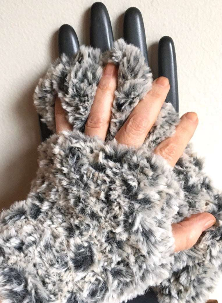 Hygge Knit Fingerless Mitts