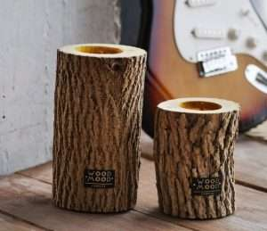 Hygge Wooden Candles Set