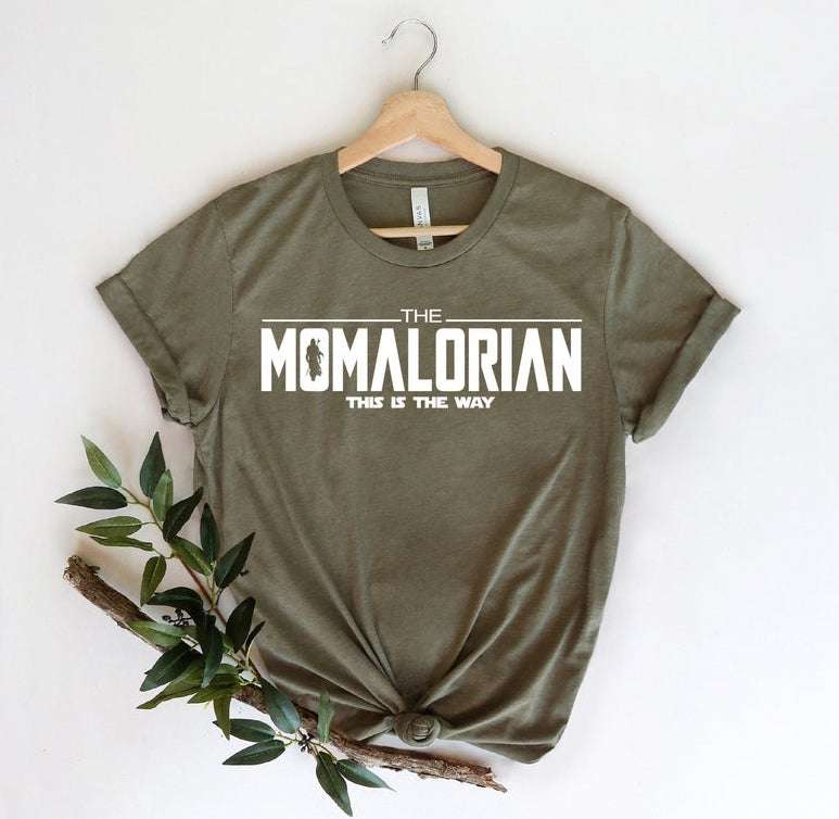 Momalorian Mother's Day T-shirt