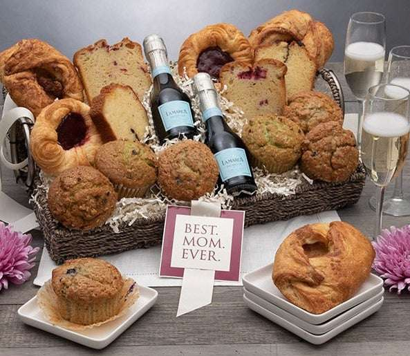 Mother's DayBreakfast & Champagne Gift Basket
