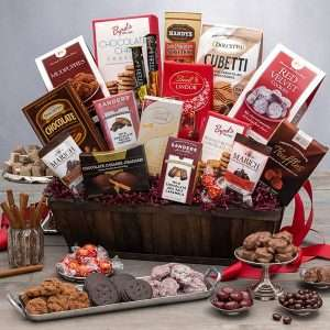 Mother's DayChocolate Gift Basket Deluxe