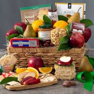 Mother's Day Fruit & Snack Gift Basket