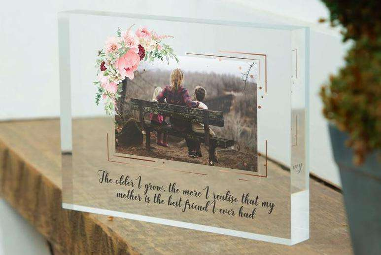 Mother's Day Glass Frame