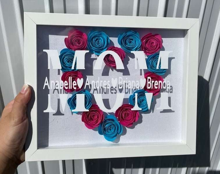 Mother's Day Shadow Box Frame