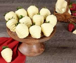 Mother's DayWhite Chocolate Covered Strawberries