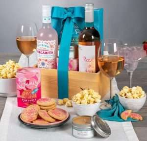Mother's Day Wine Gift Basket