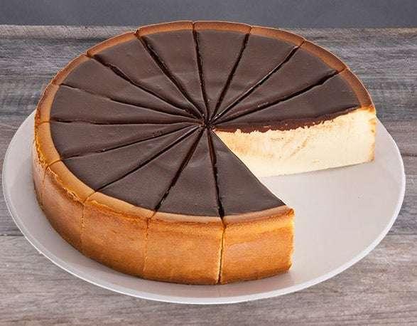 New York Chocolate Fudge Cheesecake